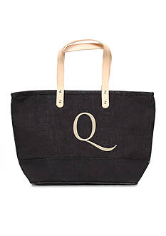 Cathy's Concepts Personalized Black Nantucket Tote