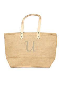 Cathy's Concepts Personalized Natural Nantucket Tote