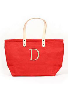 Cathy's Concepts Personalized Red Nantucket Tote