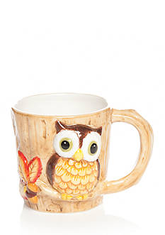 Home Accents Harvest Owl Mug