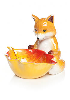 Home Accents® Harvest Fox Candy Bowl