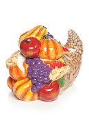 Home Accents® Harvest Cornucopia Cookie Jar