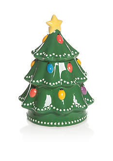 Home Accents Christmas Day Tree Cookie Jar
