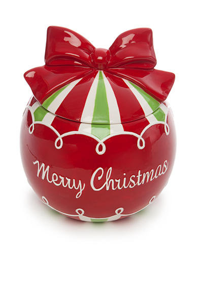 Home Accents® Christmas Day Ornament Cookie Jar