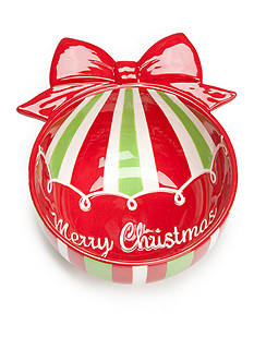 Home Accents Christmas Day Ornament Candy Bowl