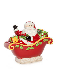 Home Accents Christmas Day Santa Tureen