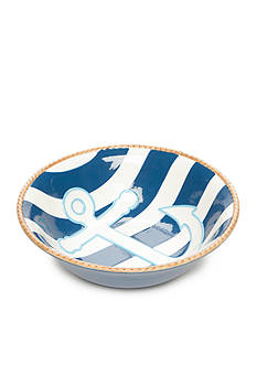 Home Accents Anchors Aweigh Serving Bowl
