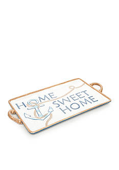 Home Accents® Anchors Aweigh Serving Tray