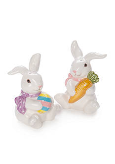 Home Accents Easter Bunny Salt and Pepper Set