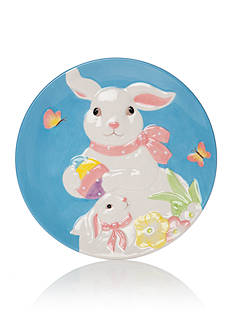 Home Accents® Bunny Appetizer Plate