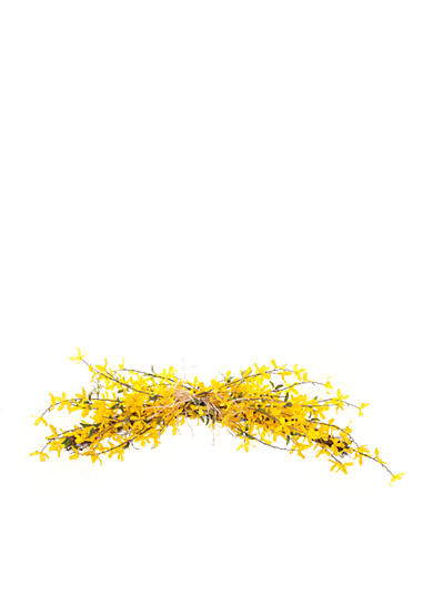 Home Accents® Yellow Flowers Floral Swag