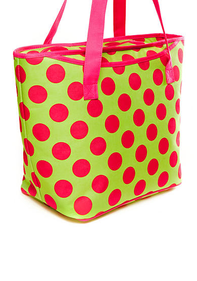 Home Accents® Polka Dot Insulated Tote