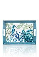 Home Accents® Melamine Sea Life Coastal