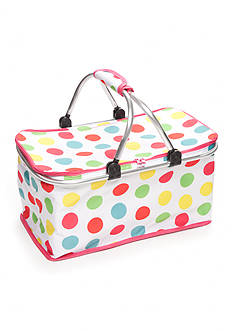 Home Accents® Multi-Dot Insulated Picnic Tote