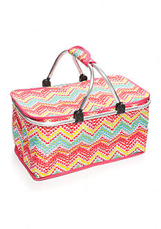 Home Accents® Chevron Insulated Picnic Tote