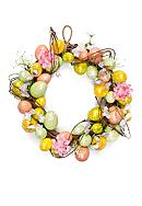Home Accents® Glittered Egg Wreath
