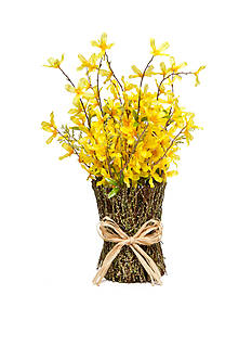 Home Accents® Forsythia Floral Stack