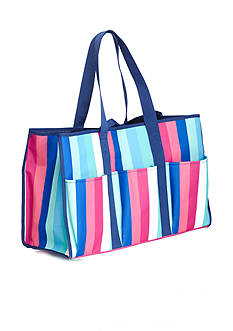 Home Accents Rectangle Tote - Color Block