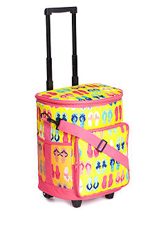 Home Accents Rolling Cooler Beach Bag