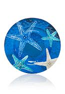 Home Accents® Coral Reef Printed Salad Plate