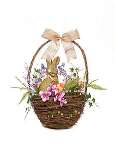 Home Accents 22.5-in. Basket Wreath