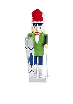 Home Accents Holiday Traditions Skiing Santa Nutcracker