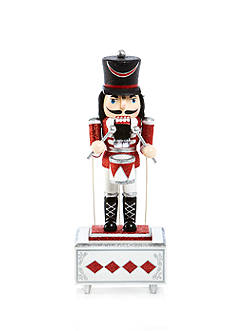 Home Accents Holly Jolly Christmas 12-in. H Music Box Soldier Nutcracker