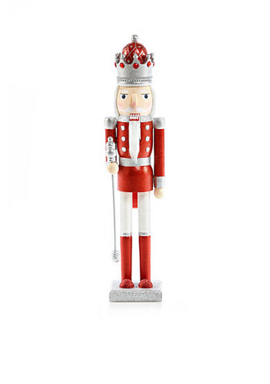 Home Accents® Holly Jolly Christmas 24-in. H King Nutcracker
