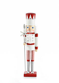 Home Accents Holly Jolly Christmas 24-in. H Soldier Nutcracker