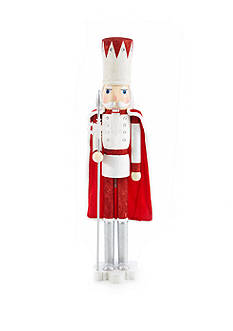 Home Accents Holly Jolly Christmas 48-in. King with Cape Nutcracker