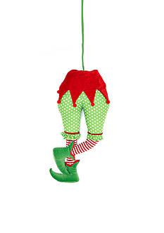 Home Accents Jingle All the Way Elf Rear & Legs Pick Ornament