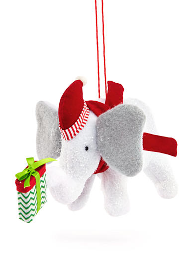 Home Accents® Jingle All the Way Elephant with Gift Ornament