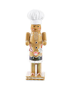 Home Accents® Jingle All the Way Gingerbread Nutcracker