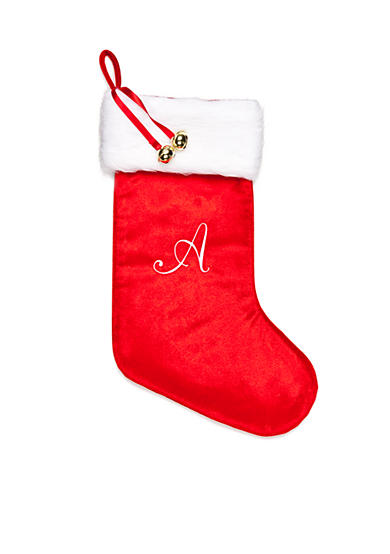 Home Accents® Holiday Traditions A Monogram Stocking