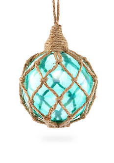 Home Accents Seas & Greetings Aqua Ball with Rope Ornament