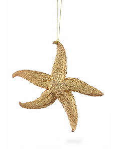 Home Accents Seas & Greetings Gold Starfish Ornament