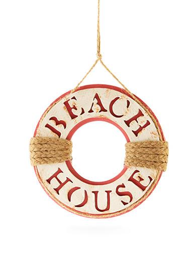 Home Accents Seas Greetings Beach House Lifesaver