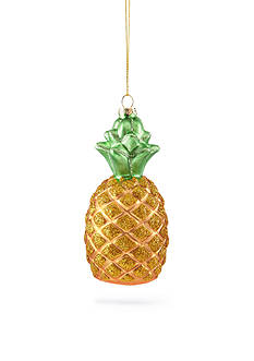 Home Accents Seas & Greetings Glass Pineapple Ornament