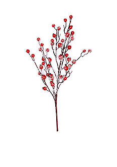Home Accents Woodland Wonder Sugar Berries Pick Ornament