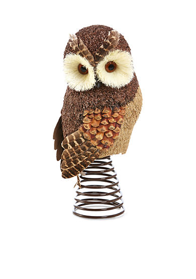 Home Accents® Woodland Wonder Owl Tree Topper