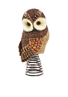 Home Accents Woodland Wonder Owl Tree Topper