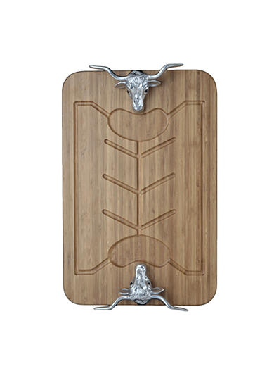 Arthur Court Longhorn Bamboo Carving Board