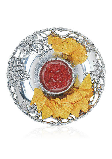 Arthur Court Grape Chip & Dip Bowl