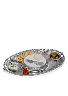 Arthur Court Grape Entertainment Tray 5-piece set