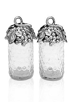Arthur Court Grape Salt and Pepper Set