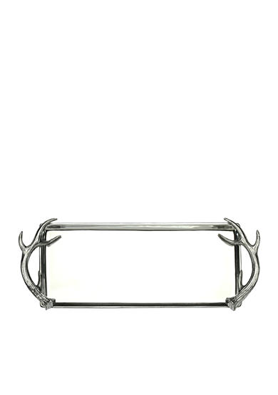 Arthur Court Antler Rectangular Oblong Tray