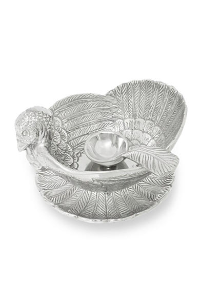 Arthur Court Turkey 3-Piece Condiment Set