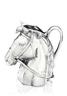 Arthur Court Horse Thoroughbred Pitcher - Online Only