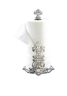 Arthur Court Fleur-De-Lis Paper Towel Holder - Online Only