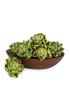 Nearly Natural 5-in. Artichoke Set